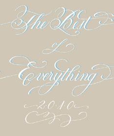 Best Calligrapher: Boo Owens