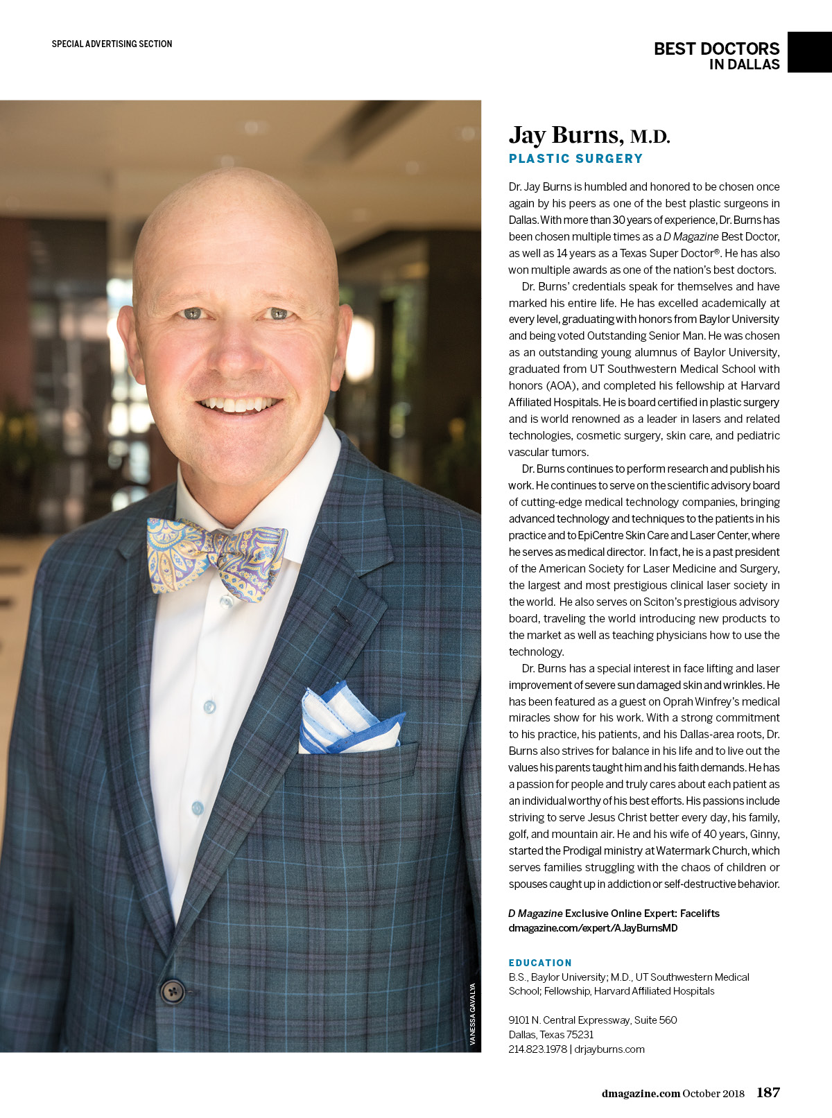 A  Jay Burns, M D  - Plastic-Cosmetic Surgery - Dallas | D